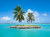 Fototapety Urlaubsinsel im Pazifik