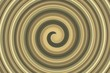 abstract spiral golden brown