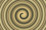 Fototapeta abstract spiral golden brown