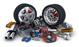 Fototapety Car parts