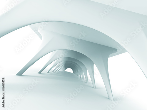 Abstract Architecture Futuristic Modern Design Background