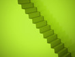 Green stairs concept