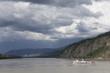 Ferry boat on Yukon River