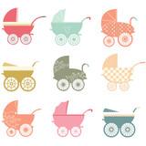 Baby Stroller Elements - 86714211