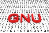 free Unix-like operating system GNU poster