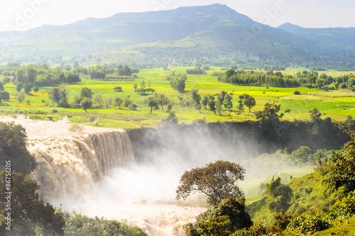 Fotobehang Nature of Ethiopia