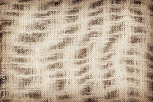 Fotobehang Stof Natural sackcloth textured for background