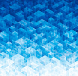 Abstract geometric blue texture background. - 86766081