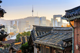 The Bukchon Hanok historic district