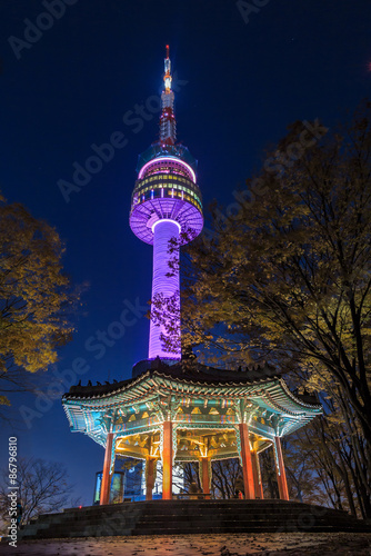 Papiers peints Seoul Seoul tower