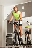 Fototapety male cycling gym