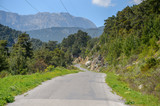 Road of the Taurus mountains in Turkey