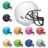 Fototapety American Football Helmet Set