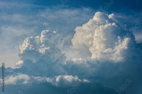 Dramatic cloudscape - 86882020