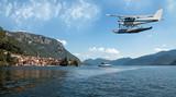 Fototapety idrovolante sul lago di Como