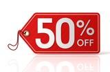 fifty percent off sale