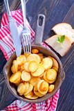 Fototapeta fried potato