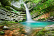 Magic waterfall in Slovenia - 86956868