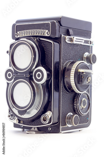 Poster Beautiful vintage camera