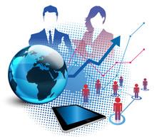 squadra, lavoro, azienda, tecnologia, informatica