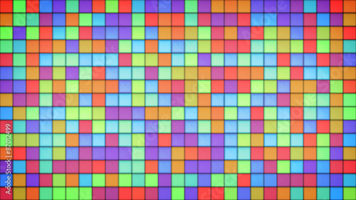 bright multicolor tiles glass mosaic background