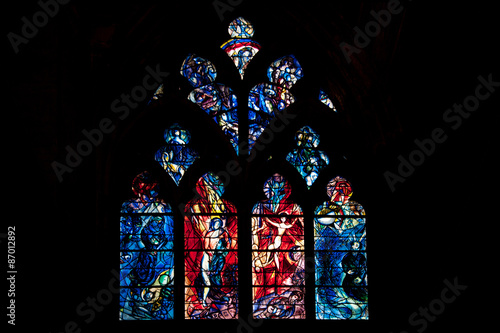 stained glass in saint etienne de metz cathedral france. Black Bedroom Furniture Sets. Home Design Ideas