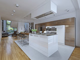 Fototapety Kitchen-dining room modern style