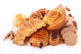 Obraz na płótnie assorted croissant