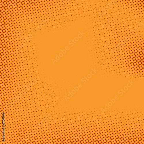 Bright halftone comic book style background