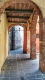 Brama w starym mieście