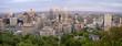 Panoramic Photo Montreal city