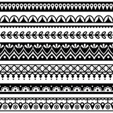Mehndi, Indian Henna tattoo seamless pattern, design elements - 87151828
