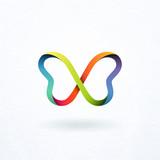 Butterfly logo - 87152096