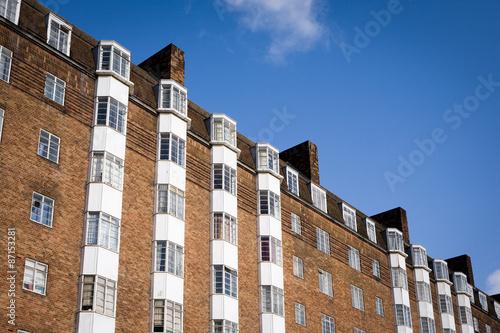 Art Deco Apartments London A Diagonal View Looking Up At Block Of 1930 S