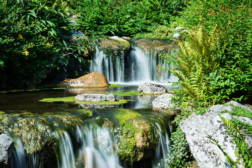 Wasserfall Gebirgsbach