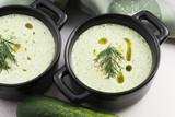 Fototapeta Tarator, bulgarian sour milk soup