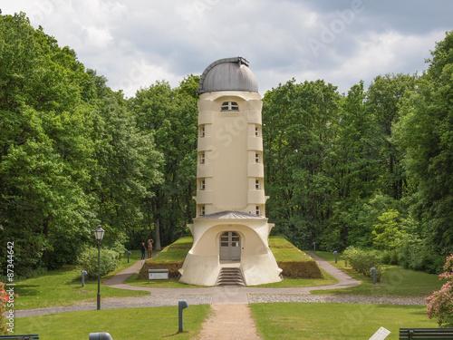 Einstein Turm in Potsdam Poster