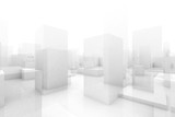 abstract blocks city - 87363446
