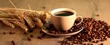 Fototapety Kaffee, Kaffeetasse, Morgen