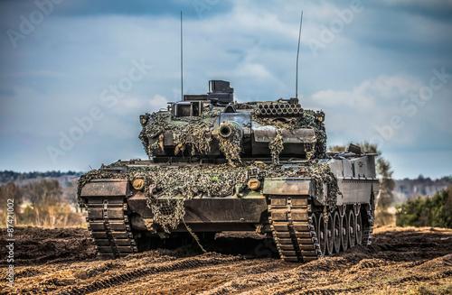 Poster Kampfpanzer Leopard 2 A 6