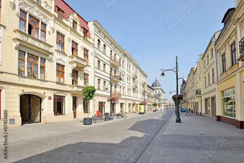 Zdjęcia na płótnie, fototapety na wymiar, obrazy na ścianę : ul. Piotrkowska