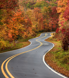 Fototapety Winding Road