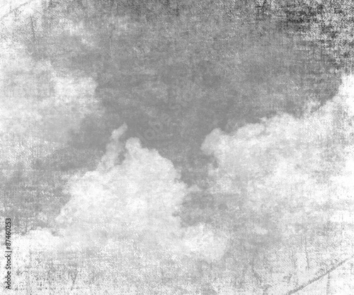 cloud on old paper texture background © arybickii