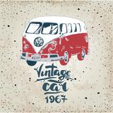Vintage design for metal sign, baner, ad. Classic Garage effects