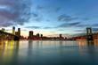 Quadro Brooklyn Bridge and Manhattan View