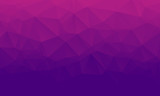 Fototapety Shades of purple abstract polygonal geometric background. Low