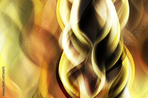 Abstract Gold Light Background