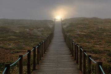 Ścieżka do słońca