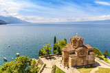 Jovan Kaneo Church, Lake Ohrid, Macedonia. - 87574251
