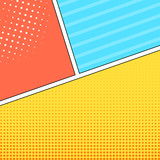 Comic style frames background